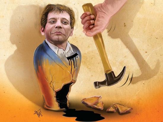 نتیجه تصویری برای کاریکاتور تسویه حساب بابک زنجانی